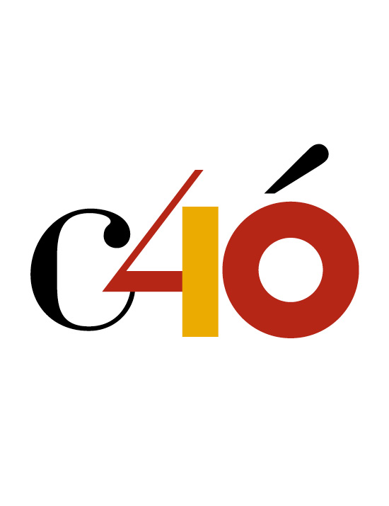 Logo of the 40th anniversary of the Constitution